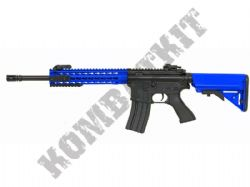 CM515 M4A1 Long Keymod AEG Airsoft Rifle Electric BB Machine Gun Black & 2 Tone